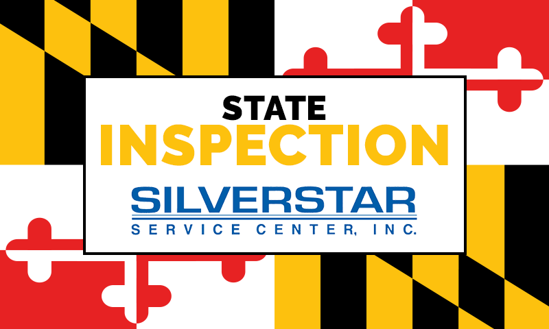 Silver Star Service Center Inc. provides maintenance Services for your MD state inspection