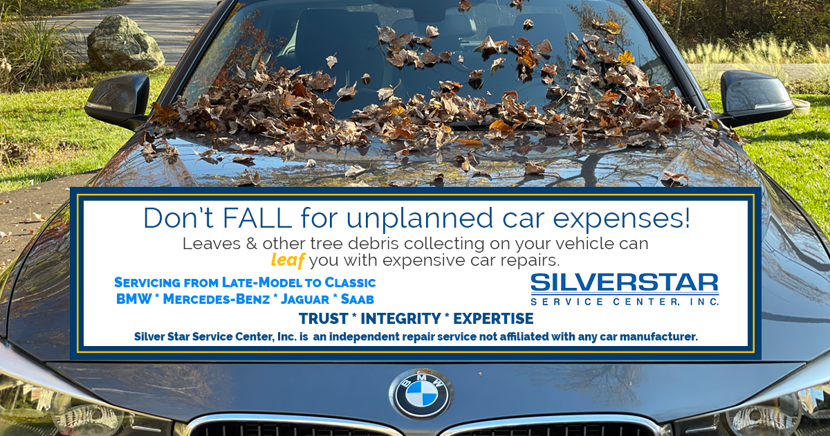 Don't FALL for unplanned car expenses!