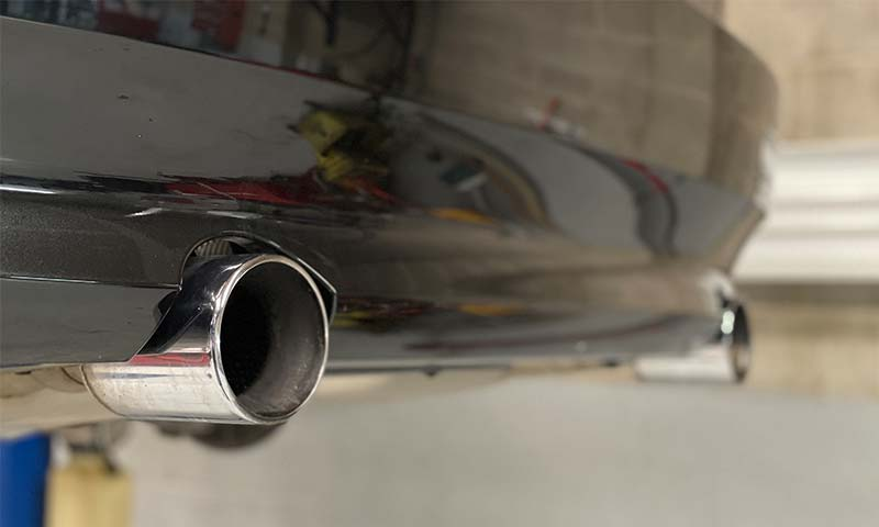 Exhaust tail pipe