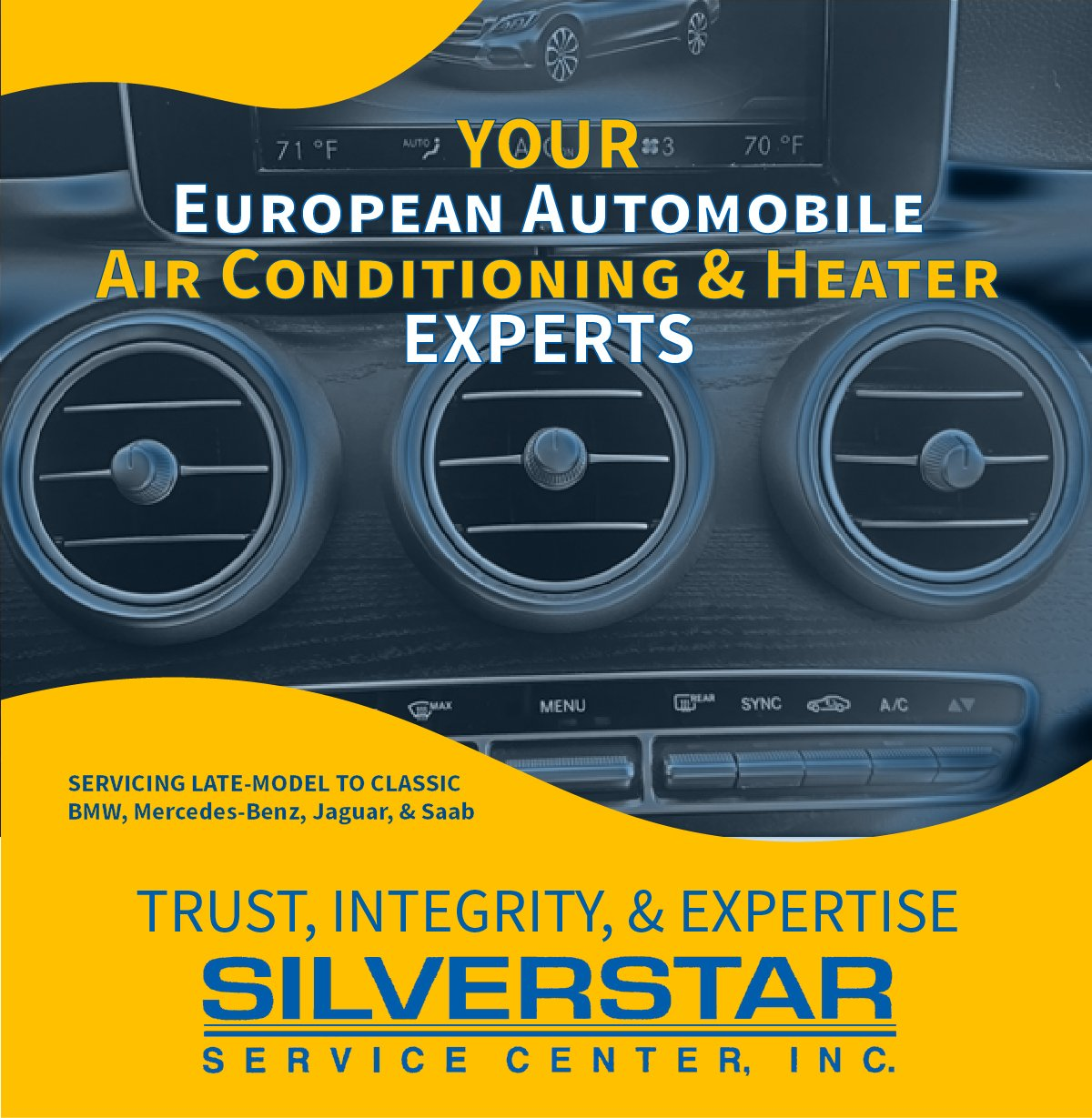 Silver Star Service Center, Inc. European Automobile Air Conditioning and Heater Service Experts