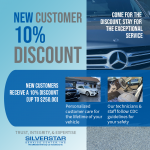 Silver Star Service Center, Inc. new customer 10% discount