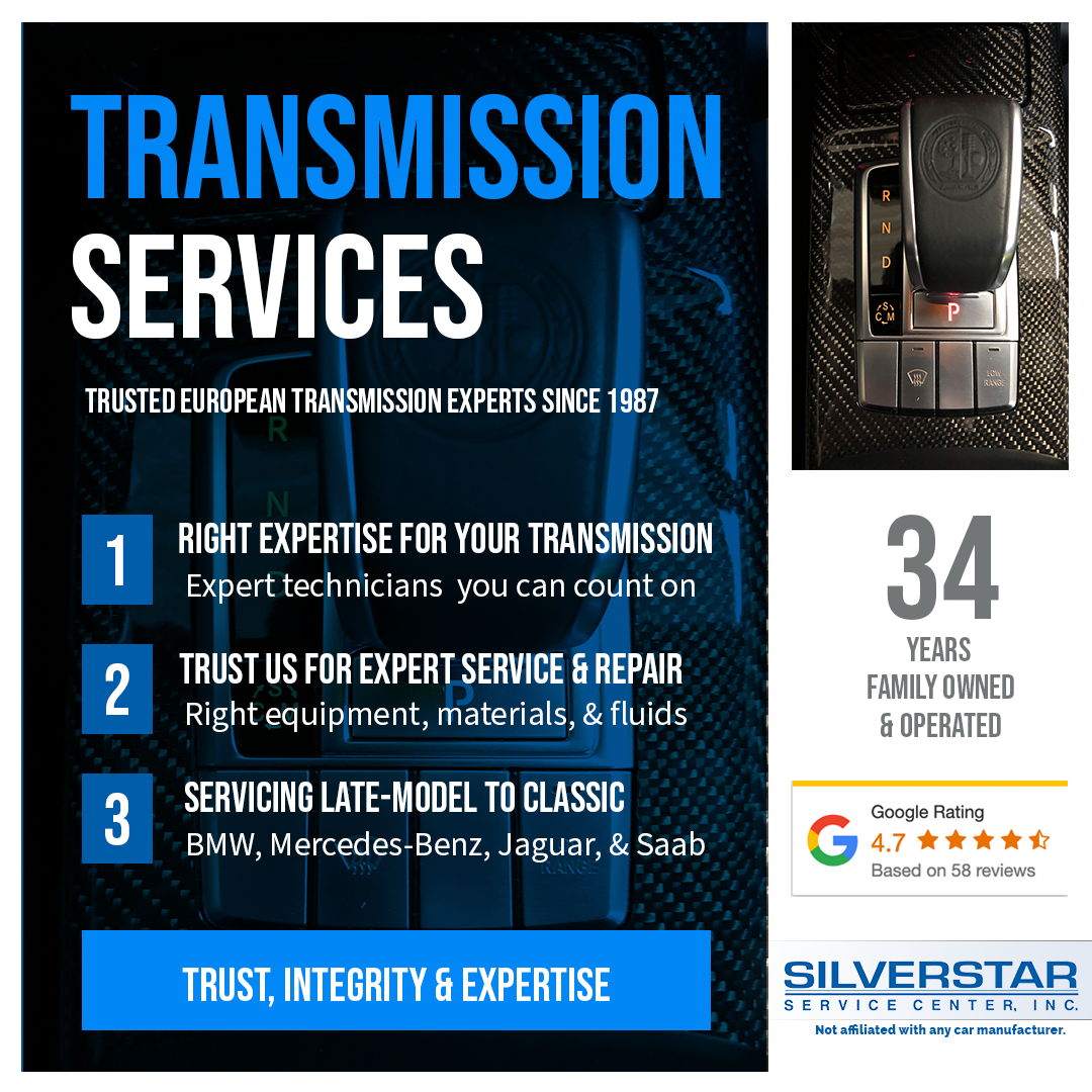 Silver Star Service Center, Inc. European Auto Transmission Service Experts